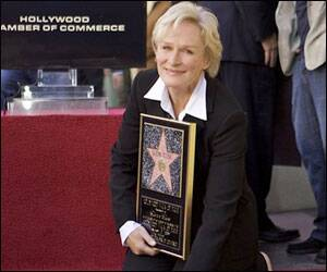 Glenn Close receives star on Hollywood Walk of Fame