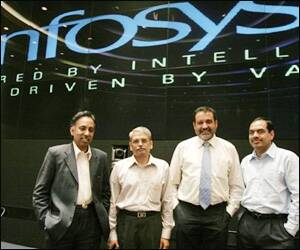 IT export growth may lag forecast: Infosys