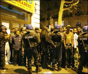 french police arrest 210 at tamils protest in paris the indian express. Black Bedroom Furniture Sets. Home Design Ideas