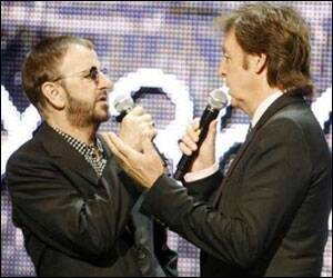 Paul,Ringo reunite for Beatles video game