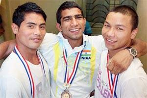 Suranjoy leads Indian boxing challenge in SAF Games