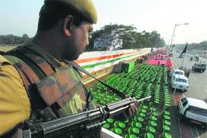 R-Day amid tight security,alert sounded