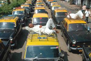 40 pct taxis off road due to Motormenstrike