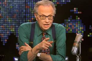 Larry King ready to hang his 'nightly suspenders'