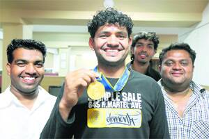 16 yrs after brother,Gowardhan brings home gold in kabaddi