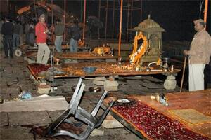 terrorism and varanasi blasts main A day after the blast in varanasi's sheetla ghat killed a toddler and injured 37 others,the mumbai police said on wednesday that bhatkal brothers riyaz and iqbal the chiefs of the indian mujahideen had masterminded the explosion the bhatkal brothers are in pakistan preliminary.