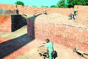 'Brick kiln workers paid less than others,but no bondedlabour'
