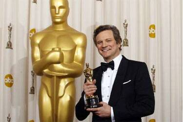 Colin Firth wins Oscar for King's Speech
