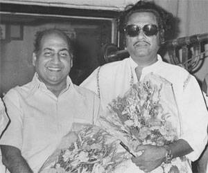 Rafi and Kishore 'together'