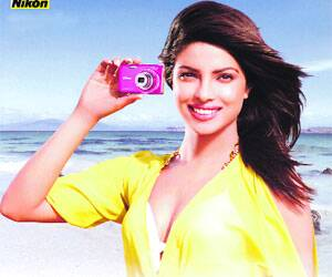 Priyanka Chopra is Nikon's first-ever female brand ambassador