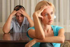 Women 'get more upset inrows'