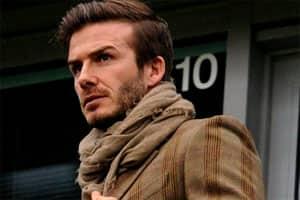 David Beckham is the best dressed man inUK
