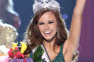 21-year-old Californian wins Miss USA crown