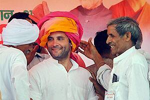 UP farmers face bullets for demanding their rights:Rahul