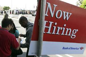 US job gains ease recession fears