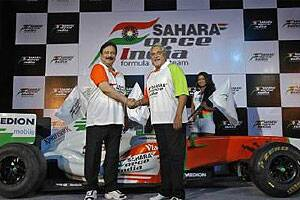 Sahara Group to buy 42.5 percent stake in ForceIndia
