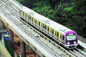 First line of Bangalore metro rail inaugurated