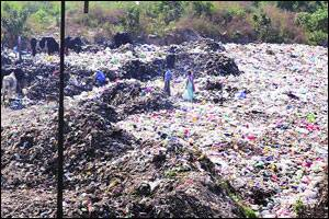'Garbage dumps creating unhygienic conditions'