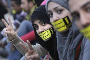 Egypts Naked Blogger Calls On Men To Wear Hijab