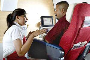 Now,air passengers can use social media to choose their seatmate!
