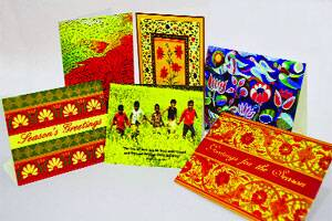 how to make greeting cards for indian soldiers