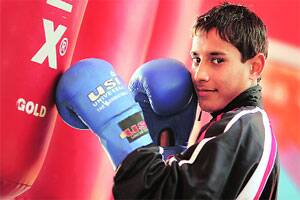 Meet Vipin — a farmer's son and National School Games champ