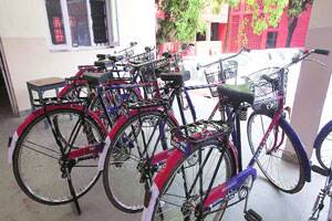 198 cycles lie idle at policestations