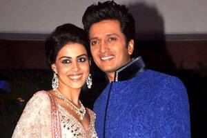 Genelia won't quit acting after marriage:Riteish
