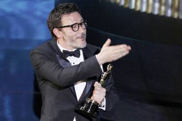 Michel Hazanavicius wins best director Oscar for 'The Artist'