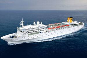 Hope for stricken cruise ship as French vessels begins towingoperation