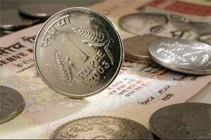 Indian rupee up by 34 paise against US dollar