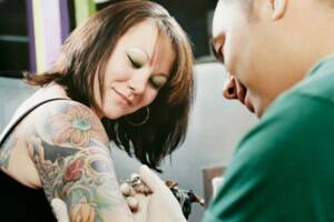 Tattoos and piercings could be potential 'markers' of drinking