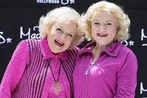 Betty White immortalised in wax at the age of 90
