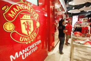 Manchester United drops Asia IPOplan