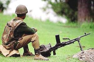 Army jawan killed in militantfiring