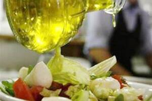 Dress salads with canola or olive oil to get most nutrients out of veggies