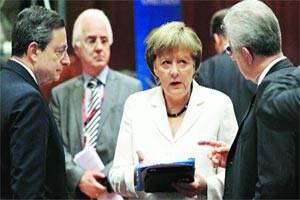 European leaders agree to use bailout fund to aidbanks