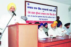 Master Tara Singh's birth anniversary observed