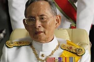 Thai king suffers brainbleeding