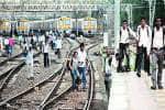 Motormen strike paralyses trains,effect spills on toroads
