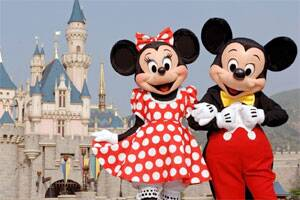 Mickey and Minnie to get sparkling makeover!