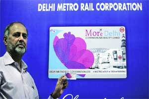 'More Delhi' card launched to make travel in city cashless