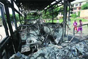 Govt probes Mayur Vihar riot,no one knows who fired fatal shot