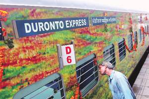Superfast Express takes Duronto's place,makes maidenjourney