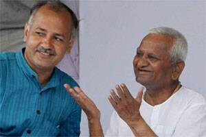 No political party if Anna Hazare is not willing: ManishSisodia