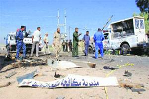Blasts in Iraq kill 32