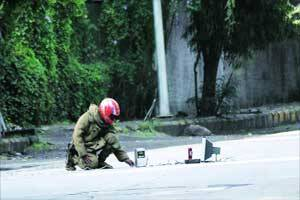 IED-like object found in KP,cops find 'nothing in it',call it 'prank'