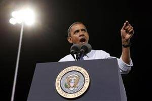 Barack Obama tackles rape comments,'fiscal cliff' on TV talk show