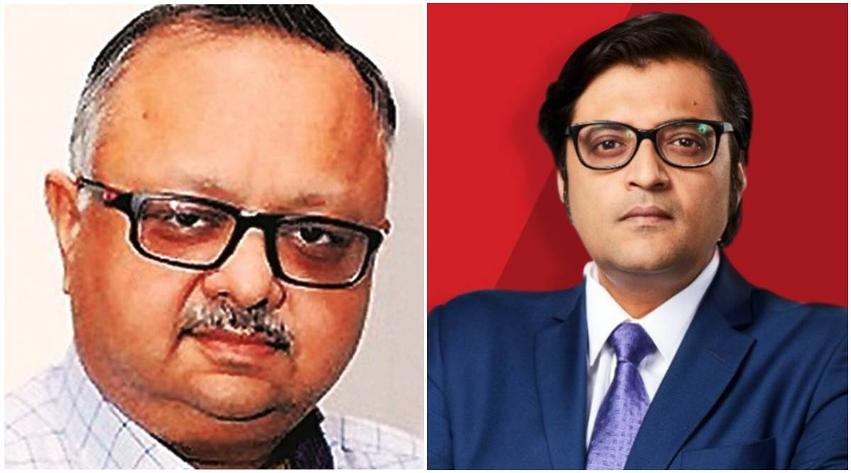 Mumbai Police cite WhatsApp chats between Arnab and ex-BARC chief