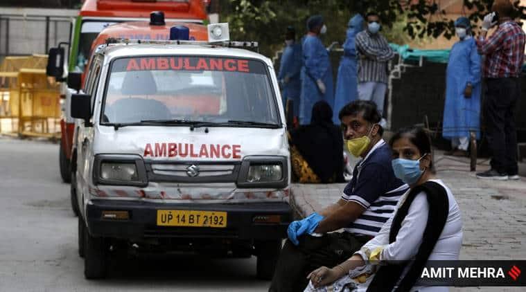 Coronavirus cases india , virus surge, India lockdown, national average, Major covid hit states in India, India news, Indian express news